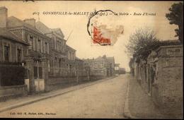 76  GONNEVILLE  La  MALLET  La Mairie Route D' Etretat - Otros Municipios