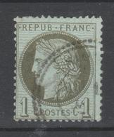 FRANCE Ceres N° 50 Oblitéré 1er Choix - 1871-1875 Ceres