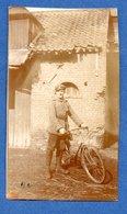 Photo  -  Cycliste Allemand - War 1914-18