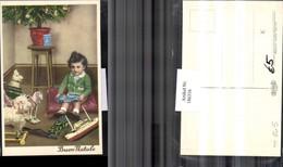 186316,Kind M. Spielzeug Auto Schiff Pferd Schaft Weihnachtsbaum - Kinder