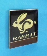 1 PIN'S //   ** VOLKSWAGEN / GOLF // RABBIT ** - Volkswagen