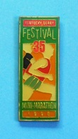 1 PIN'S //    ** KENTUCKY DERBY / FESTIVAL 35 / MINI-MARATHON // 1990 ** . (../500) - Athletics
