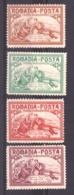 Roumanie - 1905/06 - N° 160 à 163 - Neufs * - Bienfaisance - Soignant Un Blessé - Unused Stamps