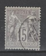 FRANCE Sage N° 66 Oblitéré 1er Choix - 1876-1878 Sage (Type I)
