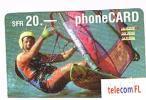 LIECHTENSTEIN   - TELECOM FL    ( REMOTE) - SURFER 20  EXP.  8.03 - USED  -  RIF. 779 - Liechtenstein