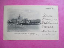CPA 59 DUNKERQUE HOTEL DE LA CHAMBRE DE COMMERCE - Dunkerque