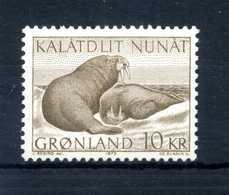 1973 GROENLANDIA SERIE COMPLETA MNH ** - Greenland