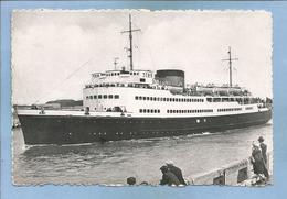 "Oostende Ostende Ostend La Malle De Mailboot ""Koning Abert"" (Albert) The Mailboat 2 Scans Flandre Occidentale - Oostende"