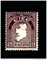 IRELAND/EIRE - 1923  1 1/2 D.  MAP  SE WMK  MINT NH  SG 73 - 1922-37 Stato Libero D'Irlanda