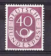 Allemagne - 1951/52 - N° 19 - Neuf * - Cor Postal - BRD