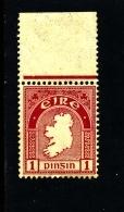 IRELAND/EIRE - 1923  1d.  MAP  SE WMK MINT  NH SG 72 - 1922-37 Stato Libero D'Irlanda