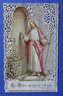 IMAGE PIEUSE  CANIVET    ED . BOUASSE LEBEL    TEXTE EN ALLEMAND   LE MAÎTRE EST LA ,IL VOUS APPELLE - Images Religieuses