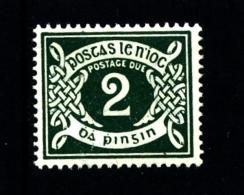 IRELAND/EIRE - 1940  POSTAGE DUE  2d. E WMK  MINT NH SG D8 - Segnatasse