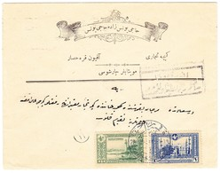 1916 Illustrierter Umschlag Aus Afyon Nach Constantinople; Stempel:Afyon - Karahissar 2; - Storia Postale