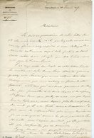 57. HAÏTI MINISTRE DES RELATIONS EXTERIEURES LOUIS DUFRENE. LAS 1857 ADRESSEE AU CONSUL D'HAÏTI CLOSSMAN A BORDEAUX - Autógrafos