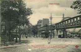 PARIS  METRO  TOUT PARIS  Place Cambronne  Le Metropolitain Aérien - Métro Parisien, Gares