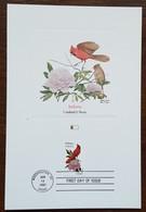 Etats-Unis - CM 1982 - YT N°1395 - Faune Et Flore Officielles Des Etats De L'Union / Indiana - Maximumkarten (MC)