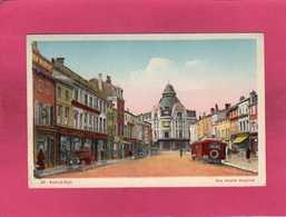 55 Meuse, Bar-le-Duc, Rue André Maginot, Animée, Bus Voitures, 1951, Colorisée, (CAP) - Bar Le Duc