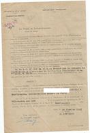 DEMANDE  D ARRESTATION ET  D INTERNEMENT AU CAMP DE CARRERE A VILLENEUVE SUR LOT D UN HABITANT DE MONFLANQUIN - Non Classés
