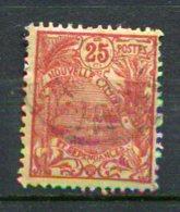 NOUVELLE-CALEDONIE -  Yv. N°  117  (o)   25c Rouge S Jaune    Cote  0,9 Euro  BE - Neukaledonien