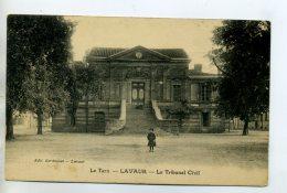 81 LAVAUR Le Tribunal Civil Justice Petit Ecolier Place 1927  /D03-2015 - Lavaur