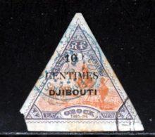 Cote Des Somalis 1902 Yvert 32 (o) B Oblitere(s) - Gebraucht