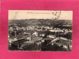 55 Meuse, Bar-le-Duc, Vue Générale Prise De Blamecourt, Usines, 1921 - Bar Le Duc