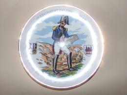 Assiette 10 ° Regiment Du Genie Spire 8 ° Marche Internationale 1989 19 X 2 Cm 260 Gr - Ceramics & Pottery