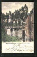 CPA Mons, Le Moulin De St. Denis - Mons