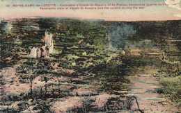 Militaria NOTRE DAME De LORETTE  Panorama D'Ablain St Nazaire Et Du Plateau Pendant La Guerre De Tranchées Colorisée RV - France