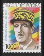 WALLIS Et FUTUNA - PA N°169 ** (1990)  G. DE Gaulle - Poste Aérienne
