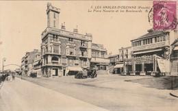 CPA LES SABLES D'OLONNE 85 - La Place Navarin - Sables D'Olonne