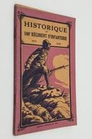 Historique Du 160e Régiment D'Infanterie. - Nancy : Imprimeries Réunies, 1920 - Libros, Revistas, Cómics