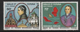 WALLIS Et FUTUNA - PA N°82/3 ** (1978) Missionnaires - Airmail