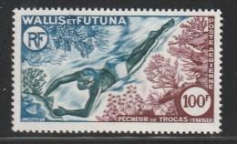 WALLIS Et FUTUNA - PA N°19 ** (1962)  Pêcheur - Poste Aérienne