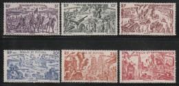 WALLIS Et FUTUNA - PA N°5/10 ** (1946)  Tchad Au Rhin - Poste Aérienne