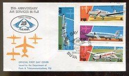 Fidschi-Inseln / 1976 / Mi. 354-357 FDC (17328) - Fiji (1970-...)