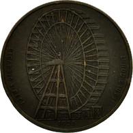 United Kingdom , Jeton, The Gigantic Wheel, Londres, 1897, TTB, Bronze - Royaume-Uni