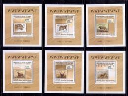 Guinea 2009 Stamps WWF 6 S/S - W.W.F.