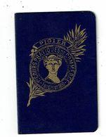 Carnet D'élève PIGIER Cours Pratique De Commerce CHOUVON Jeannine Paris 1937 - Diplomi E Pagelle