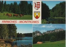 Franches-Montagnes - Paturages, Le Doubs, Etang De Gruere, Rochers Des Sommetres - JU Jura