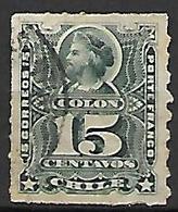 CHILI    -    1878 .  Y&T N° 26 Oblitéré .   Christophe Colomb. - Chile