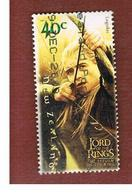 NUOVA ZELANDA (NEW ZEALAND) - SG 2652  -  2003  THE LORD OF THE RINGS: LEGOLAS    -  USED° - New Zealand