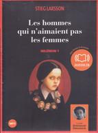 Les Hommes Qui N'aimaient Pas Les Femmes - Stieg LARSSON - 2 CD MP3 - Audiolib - Neuf - CDs