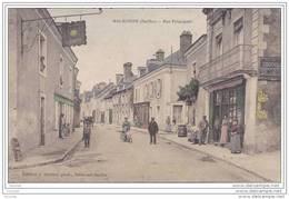 72) Malicorne.- (Sarthe)  Rue  Principale - Malicorne Sur Sarthe