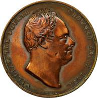 United Kingdom , Médaille, Couronnement De William IV, Adélaïde, 1831, Wyon - United Kingdom