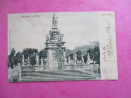 CPA ITALIE PALERMO MONUMENTO A FILIPPO V - Palermo