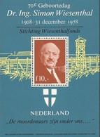 Nederland Cinderella - Simon Wiesenthal Birthday - Joodse Geloof