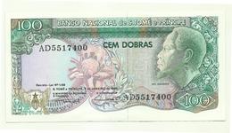 St. Tomè E Principe - 100 Dobras 1989-, - São Tomé U. Príncipe
