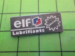 1318b Pin's Pins / Rare Et De Belle Qualité / CARBURANTS : ROUE DENTEE ELF LUBRIFIANTS INDUSTRIE - Fuels